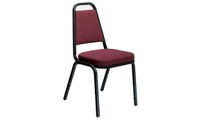 Armless Tapered Back Stack Chair, 51198
