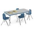 "Child-Height Activity Table 48"" x 30"", 46332"