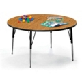"Round Child Size Adjustable Height Table - 48"" Diameter, 41608"