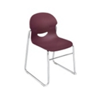 Stack Chair with Sled Base, CD05799