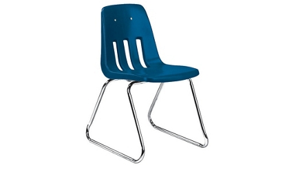 """Sled Base Stack Chair 12"""" High, 51604"""