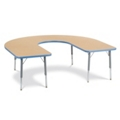 "Horseshoe Shaped Activity Table 66"" x 60"", 46337"