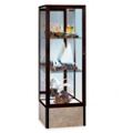 "24"" Wide Unlighted Tower Display Case, 31582"