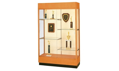 "Trophy Display Case with Fabric Back - 48""W x 70""H, 36807"