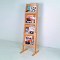 Floor Literature Rack with 12 Pockets, 33191