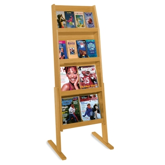 Literature Rack with 16 Pockets, 33192