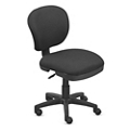 Everyday Values Compact Armless Task Chair , 56024