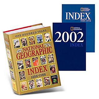 National Geographic 100 Year Index (1888-1988)