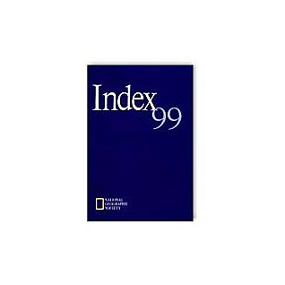 National Geographic 1999 Annual Index