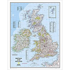 British Isles Countries Map