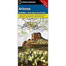 Arizona Guide Travel and Hiking Map