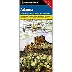 Detailed Map of Arizona