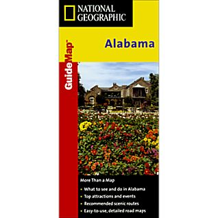 National Geographic Alabama Map