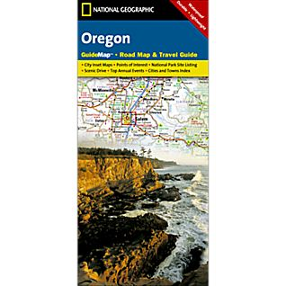 Oregon Guide Map