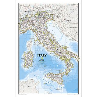 View Italy Political Map image
