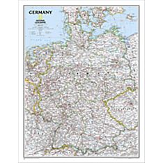Map of the Country Germany