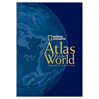 Deluxe Hardcover 8th Edition Atlas of the World