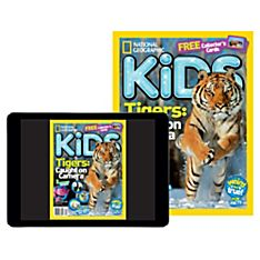 National Geographic Kids Magazine Print Plus (Canada)
