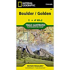 100 Boulder, Golden Trail Map