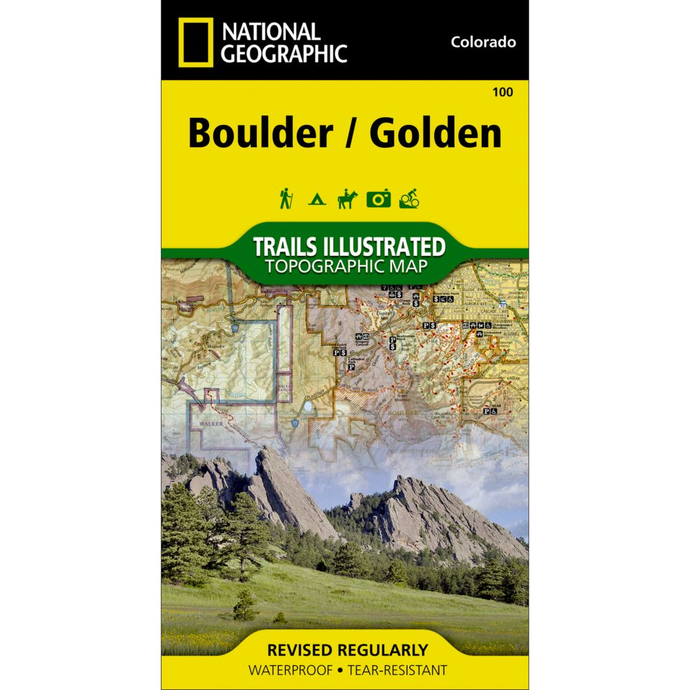 National Geographic Boulder/Golden Trail Map