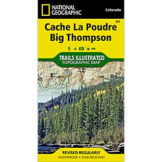 View 101 Cache La Poudre/Big Thompson Trail Map image