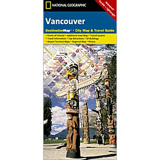 Vancouver Destination City Map