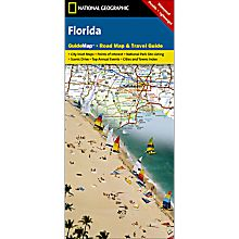 Florida Guide Travel and Hiking Map