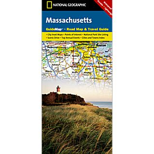 Massachusetts Guide Map