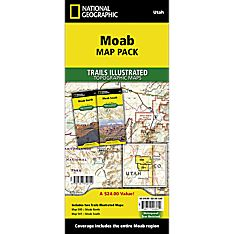 Moab Travel and Hiking Map Pack