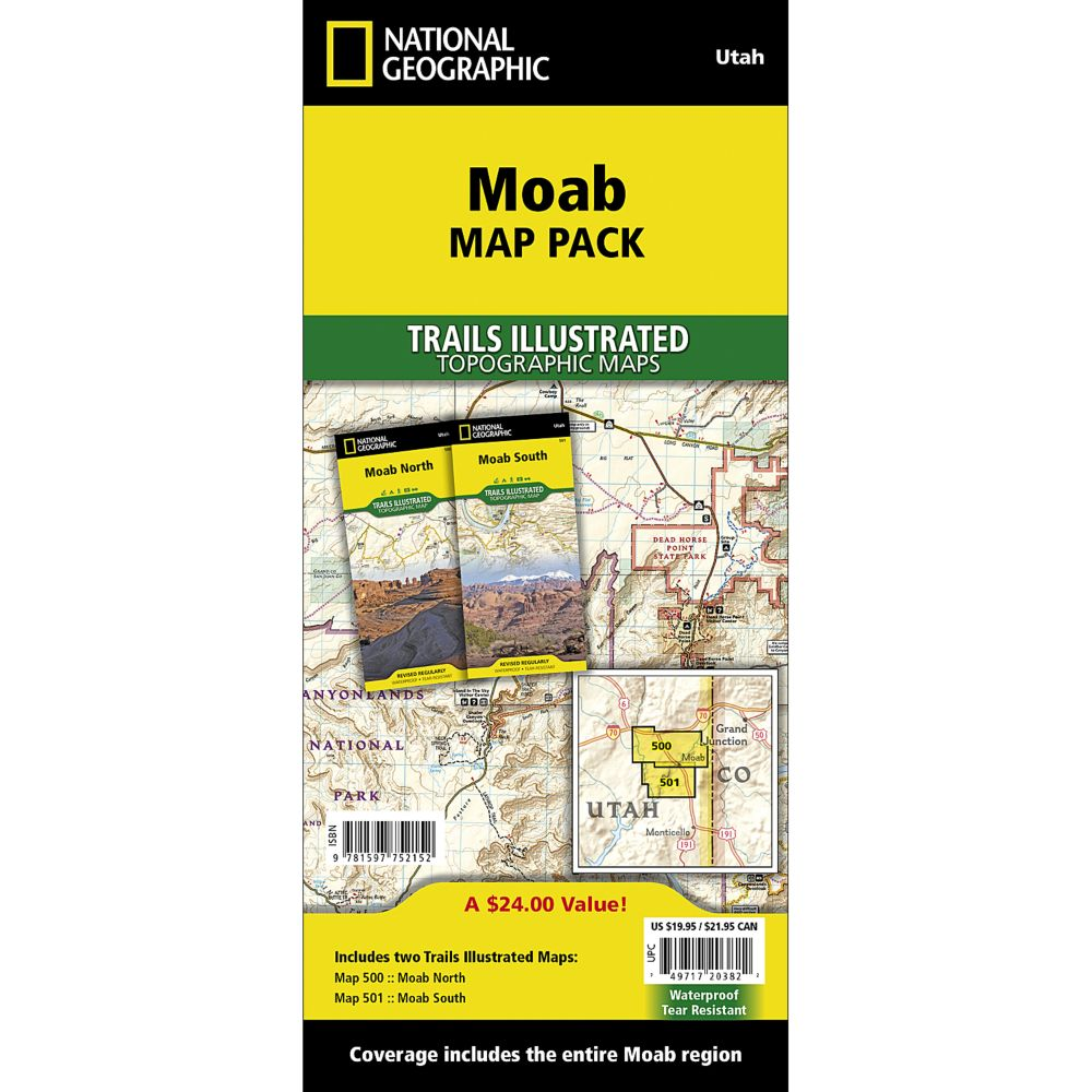 photo: National Geographic Moab Map Pack