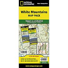 White Mountains Travel and Hiking Map Pack