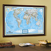 """National Geographic """"My World"""" Personalized Map (Classic)"""