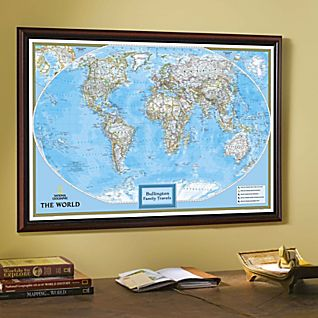 View National Geographic ''My World'' Personalized Map (Classic) image