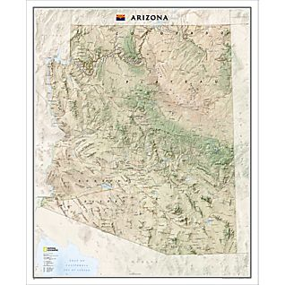 View Arizona Wall Map image