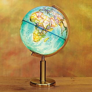 Illuminated Quest Tabletop Globe