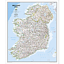 Ireland Political Map (Classic)