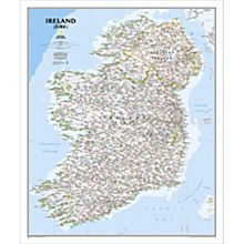 Ireland Political Map (Classic), 2010