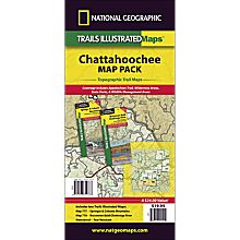 Chattahoochee Travel and Hiking Map Pack