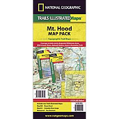 Mount Hood, Columbia River Gorge Trail Maps (Map Pack Bundle)