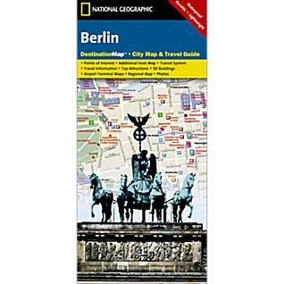 Berlin Destination City Map - Updated