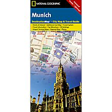 Munich Destination City Map - Updated, 2010