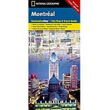 Montreal Destination City Map - Updated, 2010