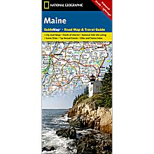 Maine State Guide Map - Updated