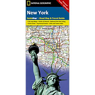 New York State Guide Map - Updated