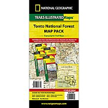 Tonto National Forest Hiking Trails Map