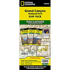 Grand Canyon Hiking Map