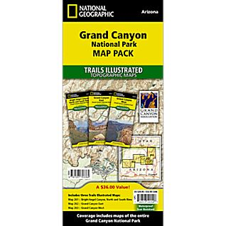 National Geographic Grand Canyon National Park Map Pack