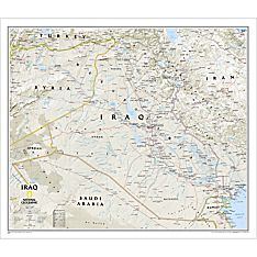 Iraq Classic Wall Map
