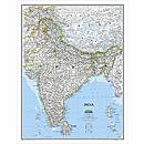 India Political Map, Laminated