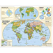 Beginners World Education Map (Grades K-3)